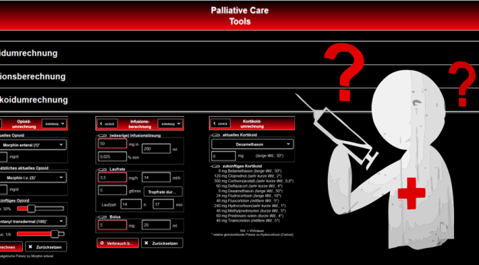 App / Website: Palliative Care Tools