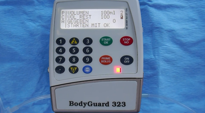 Videos: BodyGuard 323 (PCA und parenterale Ernährung)