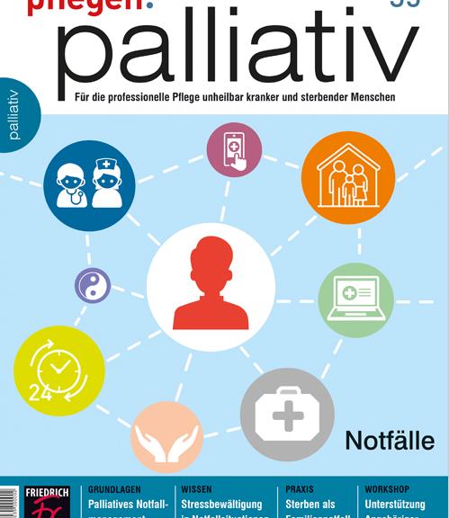 pflegen:palliativ 35/2017 Notfälle Cover (Fischer Verlag)
