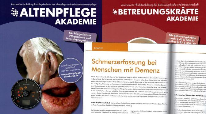Schmerzerfassung bei Menschen mit Demenz (E-Learning Altenpflege / Betreuungskräfte Akademie)