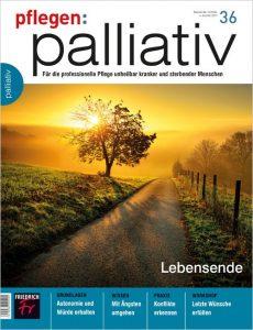 pflegen:palliativ 36/2017 Lebensende Cover (Fischer Verlag)