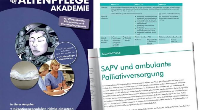 SAPV und ambulante Palliativversorgung (E-Learning Altenpflege Akademie)