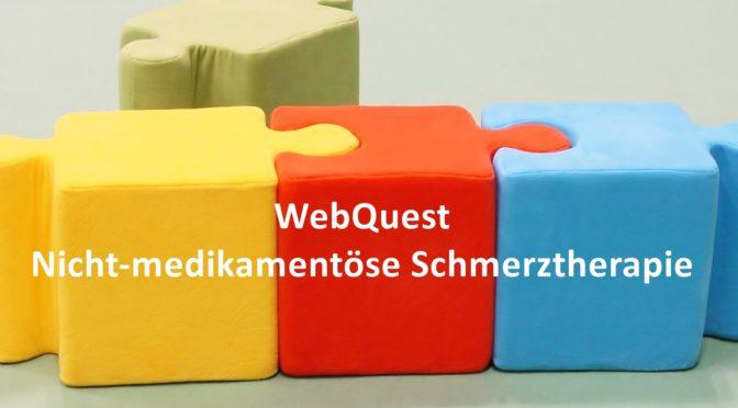 WebQuest Nicht medikamentöse Schmerztherapie