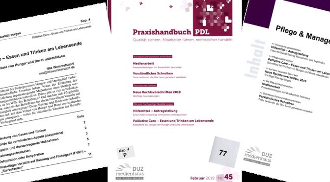 Essen und Trinken am Lebensende (Praxishandbuch Pflege / Pflege & Management)